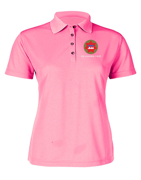 VII Corps Ladies Embroidered Moisture Wick Polo Shirt