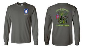 82nd Airborne Jungle Master JOTC Long-Sleeve Cotton T-Shirt