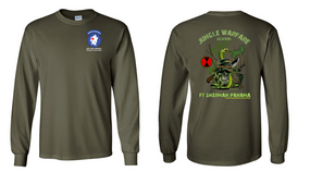 7th Infantry Division Jungle Master JOTC Long-Sleeve Cotton T-Shirt