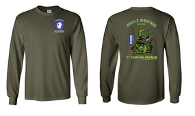 193rd Infantry Brigade Jungle Master JOTC Long-Sleeve Cotton T-Shirt