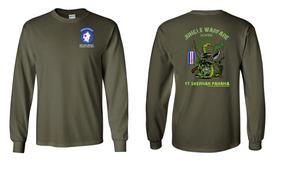 193rd Infantry Brigade Jungle Master JOTC Long-Sleeve Cotton T-Shirt
