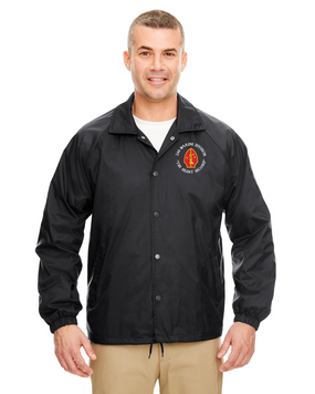 2nd Marine Division Embroidered Windbreaker
