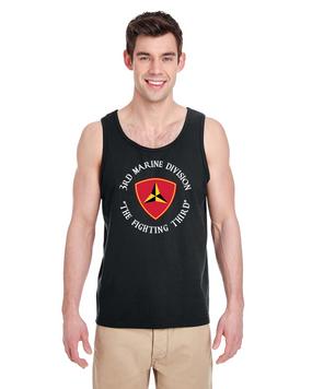 3rd Marine Division  Tank Top-FF