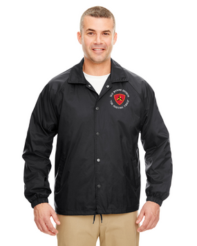 3rd Marine Division Embroidered Windbreaker