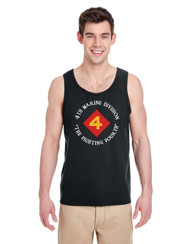 4th Marine Division  Tank Top-FF