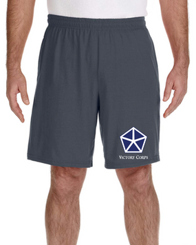 V Corps Embroidered Gym Shorts