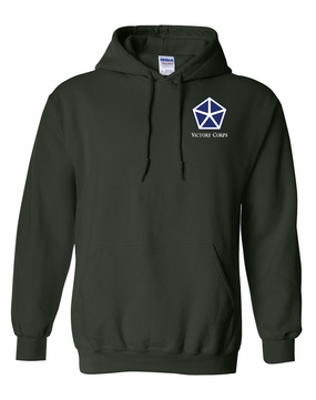 V Corps Embroidered Hooded Sweatshirt