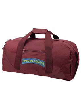 US Army Special Forces Tab Embroidered Duffel Bag