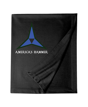 III Corps Embroidered Dryblend Stadium Blanket