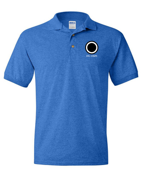 I Corps Embroidered Cotton Polo Shirt