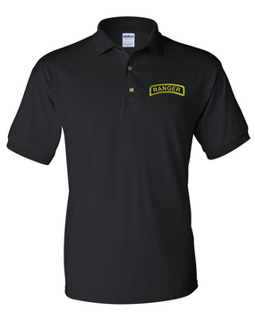 US Army Ranger Embroidered Cotton Polo Shirt
