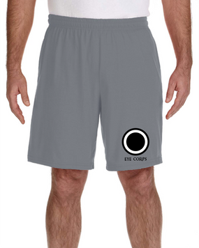 I Corps Embroidered Gym Shorts