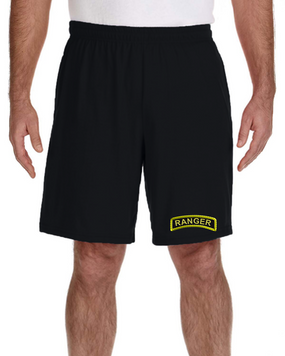 US Army Ranger Embroidered Gym Shorts