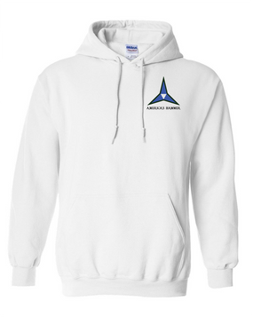 III Corps Embroidered Hooded Sweatshirt