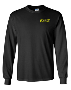 US Army Ranger Long-Sleeve Cotton T-Shirt (P)