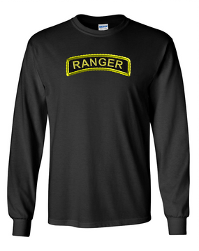 US Army Ranger Long-Sleeve Cotton T-Shirt