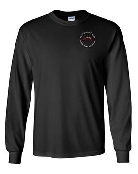 1-75th Ranger Battalion Long-Sleeve Cotton T-Shirt