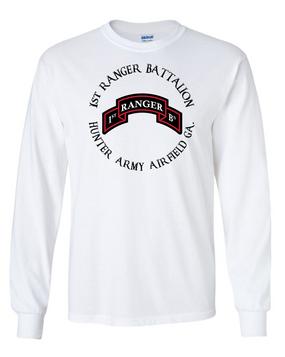 1-75th Ranger Battalion Long-Sleeve Cotton T-Shirt -FF