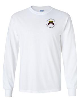 1-75th Ranger Battalion-Tab Long-Sleeve Cotton T-Shirt