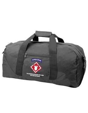 27th Engineer Battalion Embroidered Duffel Bag