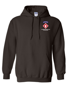 27th Engineer Battalion Embroidered Hooded Sweatshirt