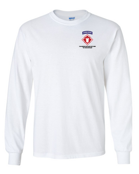27th Engineer Battalion Long-Sleeve Cotton T-Shirt