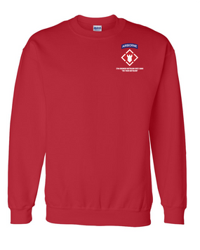 27th Engineer Battalion Embroidered Sweatshirt