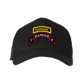 3-75th Ranger Battalion-Tab Baseball Cap