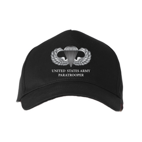 US Army Parachutist Wings Baseball Cap