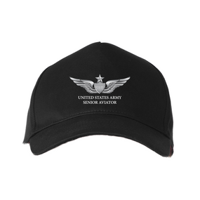 US Army Senior Aviator Baseball Cap