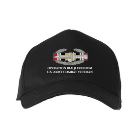 Operation Iraqi Freedom-CAB- Embroidered Baseball Cap