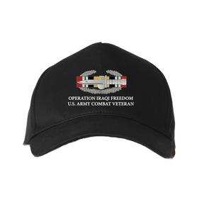 Operation Iraqi Freedom-CAB- Embroidered Baseball Cap