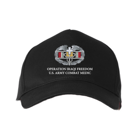 Operation Iraqi Freedom-CMB- Embroidered Baseball Cap