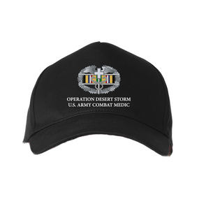 Operation Desert Storm-CMB- Embroidered Baseball Cap
