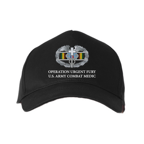 Operation Urgent Fury-CMB- Embroidered Baseball Cap