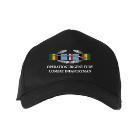 Operation Urgent Fury-CIB-Arrowhead Embroidered Baseball Cap