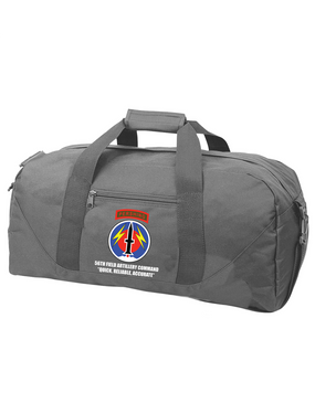 56th Field Artillery Command Embroidered Duffel Bag
