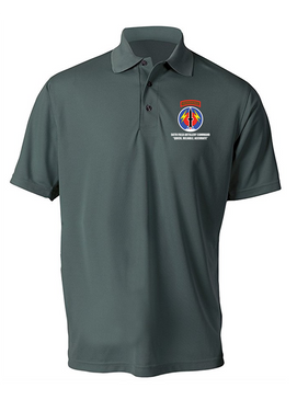 56th Field Artillery Command Embroidered Moisture Wick Polo Shirt