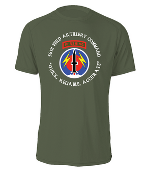 56th Field Artillery Command Cotton Shirt-FF (C)