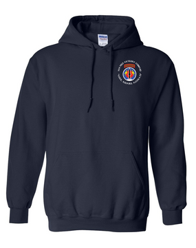 56th Field Artillery Command Embroidered Hooded Sweatshirt  (C)