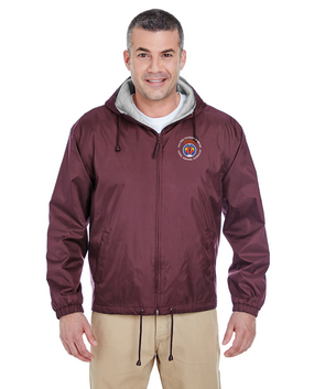 56th Field Artillery Command  Embroidered Fleece-Lined Hooded Jacket (C)