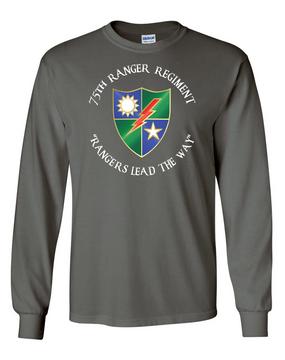 75th Ranger Regiment  Long-Sleeve Cotton T-Shirt (A) (FF)
