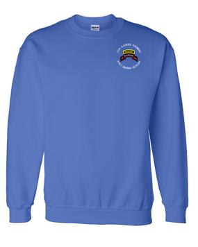 75th Ranger Regiment-Tab- Embroidered Sweatshirt (B)