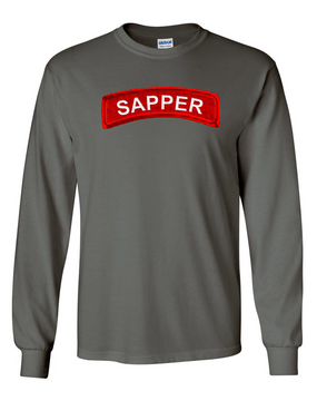 Sapper Long-Sleeve Cotton T-Shirt -FF