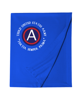 3rd Army Embroidered Dryblend Stadium Blanket