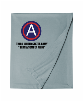 3rd Army Embroidered Dryblend Stadium Blanket  (L)