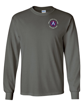 "3rd Army ""Patton's Own"" Long-Sleeve Cotton T-Shirt"