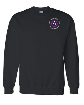 "3rd Army ""Patton's Own"" Embroidered Sweatshirt"