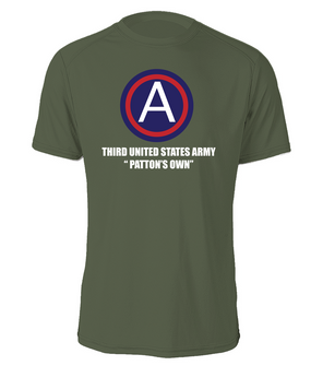 "3rd Army ""Patton's Own""  Cotton Shirt (L) (FF)"