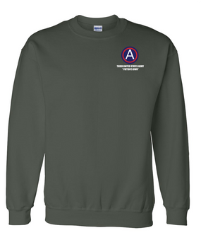 "3rd Army ""Patton's Own"" Embroidered Sweatshirt (L)"
